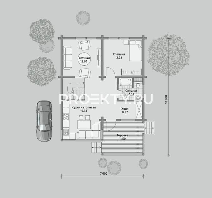 План проекта Б 105