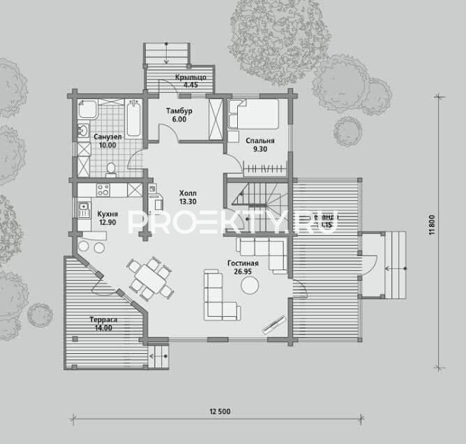 План проекта Б 165