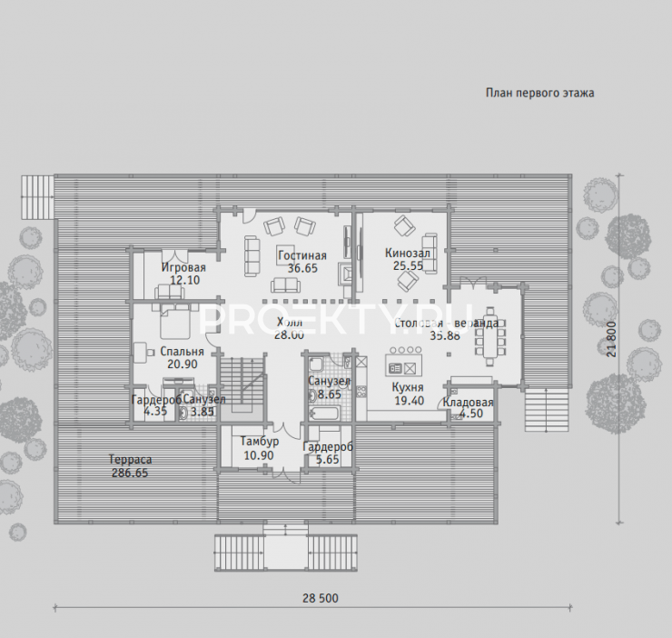 План проекта Б 512