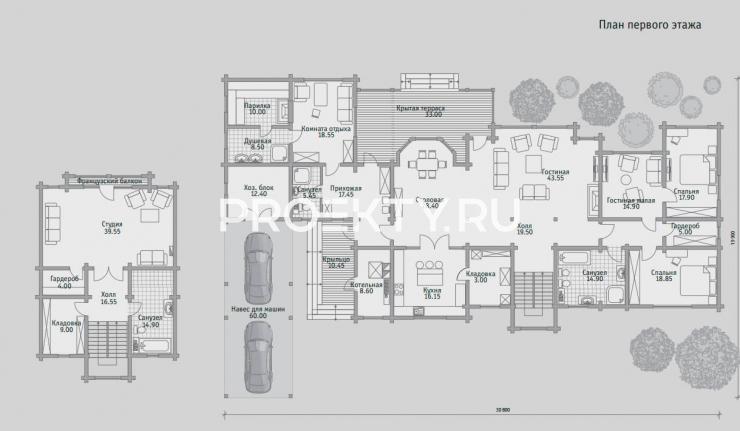 План проекта Б 564