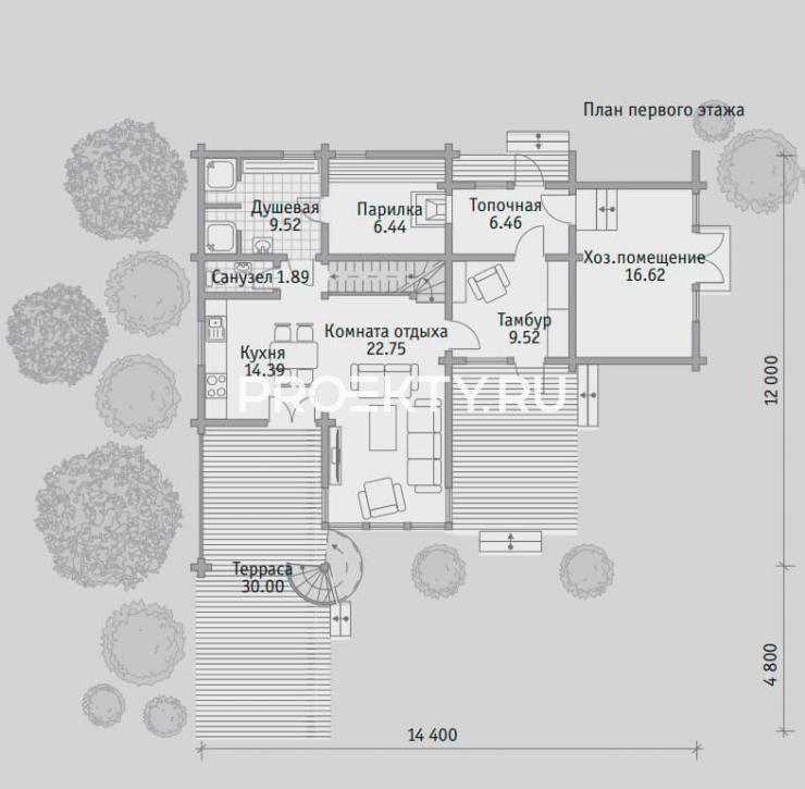 План проекта Баня БН 141