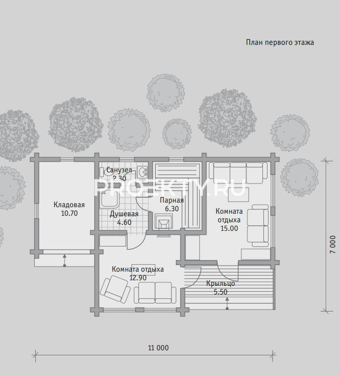 План проекта Баня БН 52
