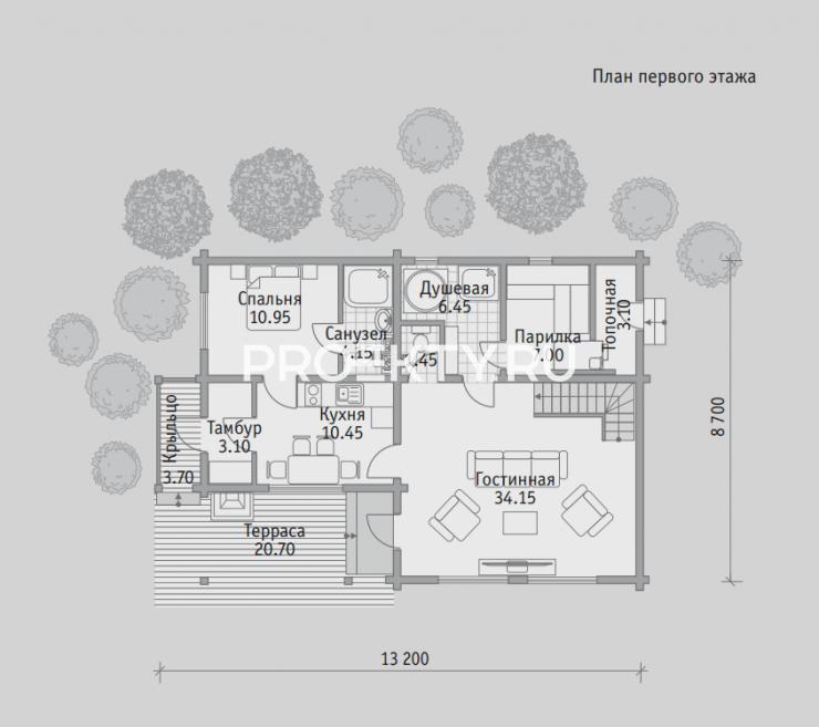 План проекта Баня БН 136