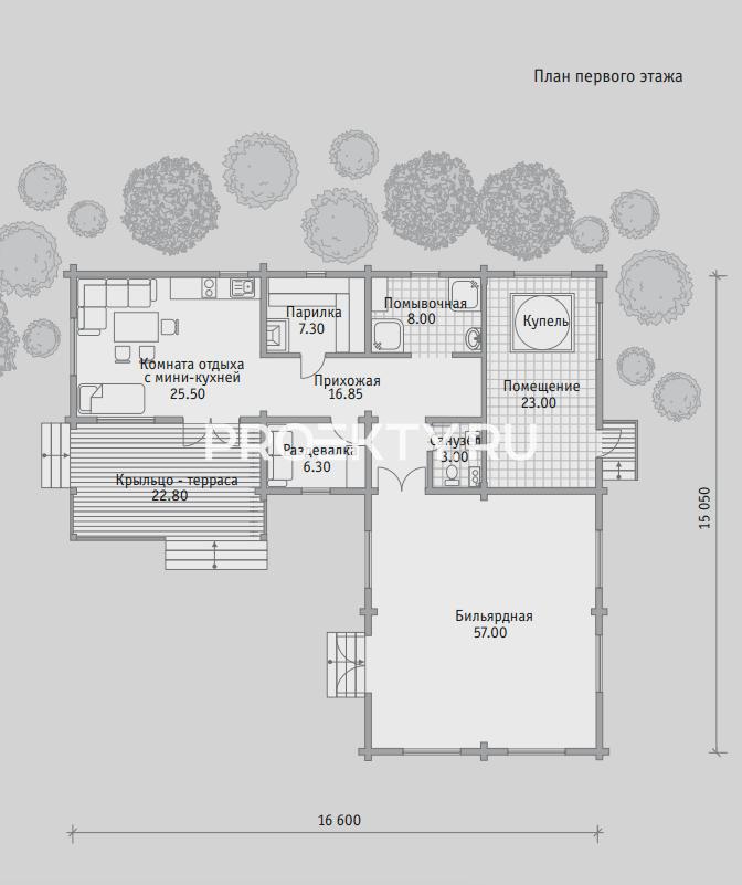 План проекта Баня БН 154