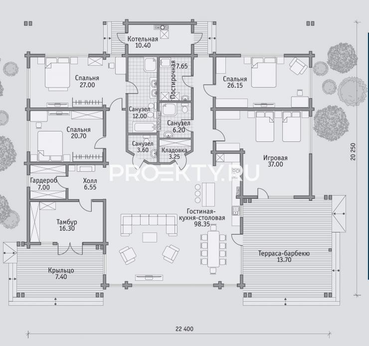 План проекта Б 314