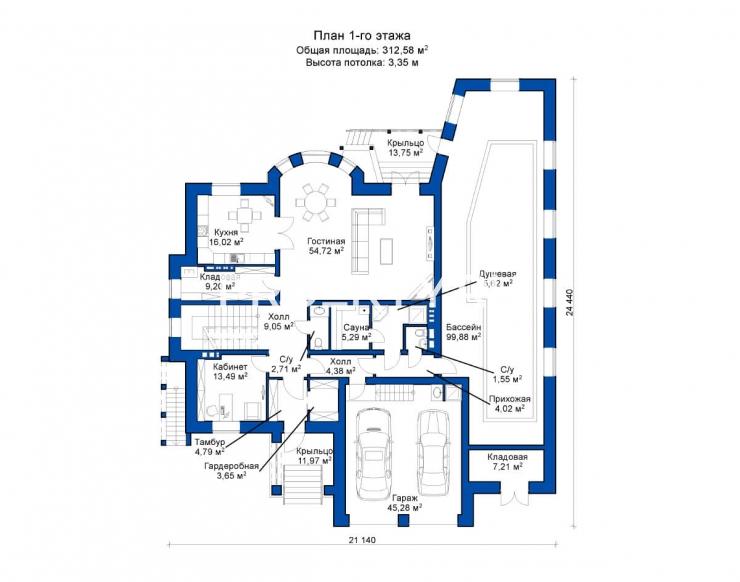 План проекта Сиена