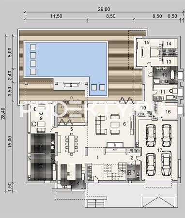 План проекта LK&900