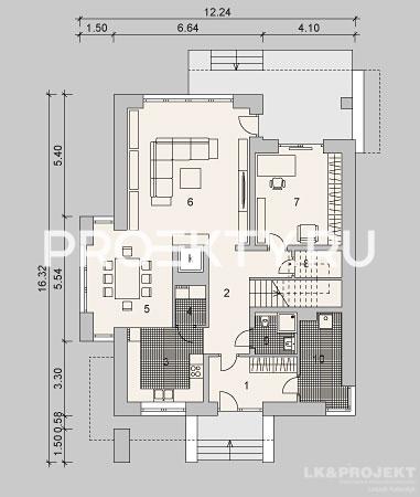 План проекта LK&896