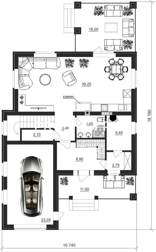 План проекта 83-55