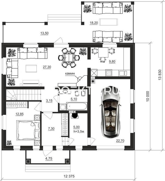 План проекта 87-61