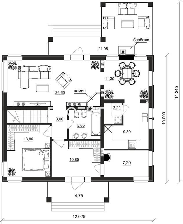 План проекта 95-43