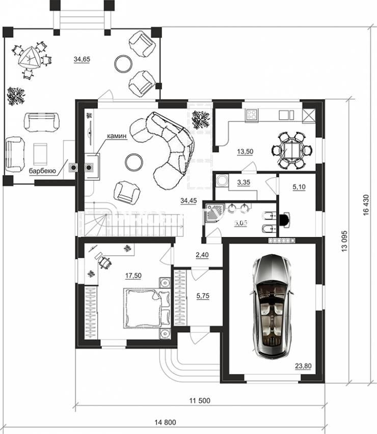 План проекта 95-75