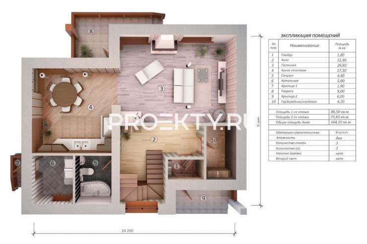 План проекта Осака