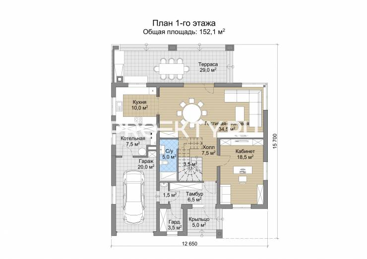 План проекта Андор