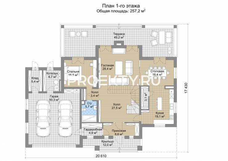 План проекта Модена