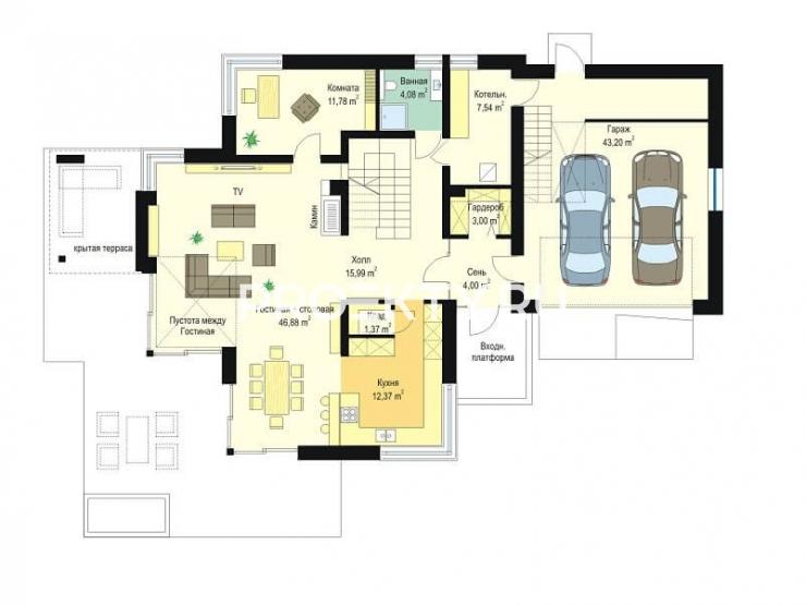 План проекта Дом с Видом-3