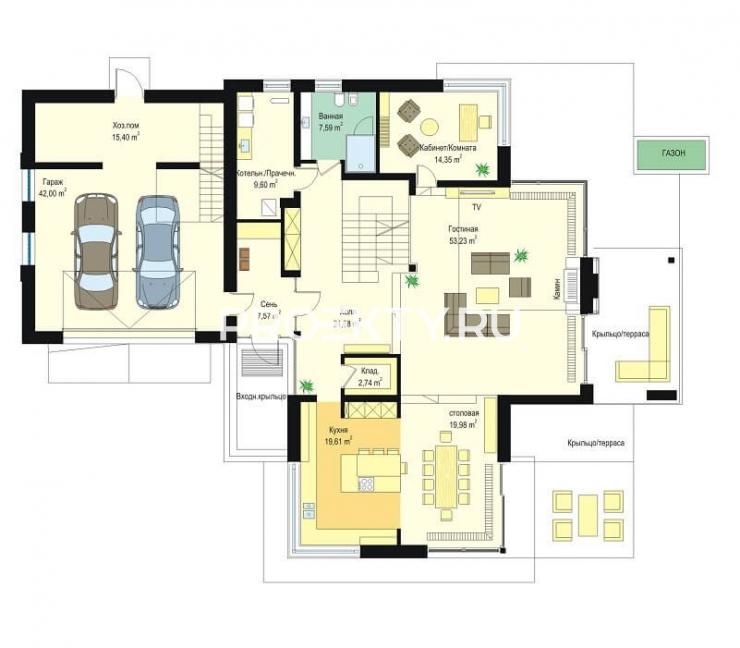 План проекта Дом с Видом-4