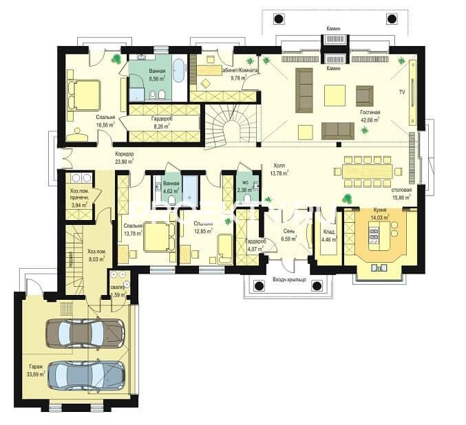 План проекта Парковая Резиденция-3