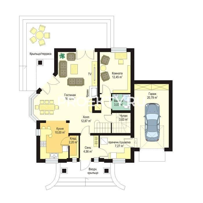 План проекта Дом на Медаль-2