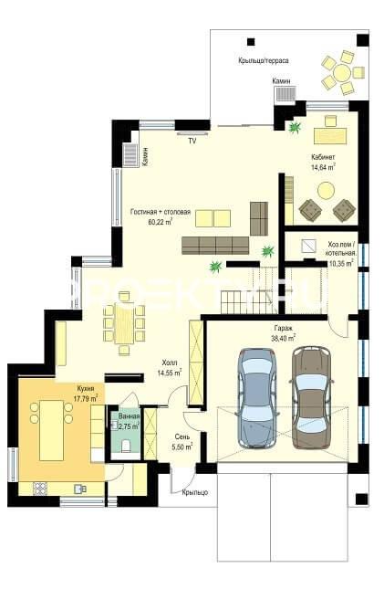 План проекта Лесная Резиденция