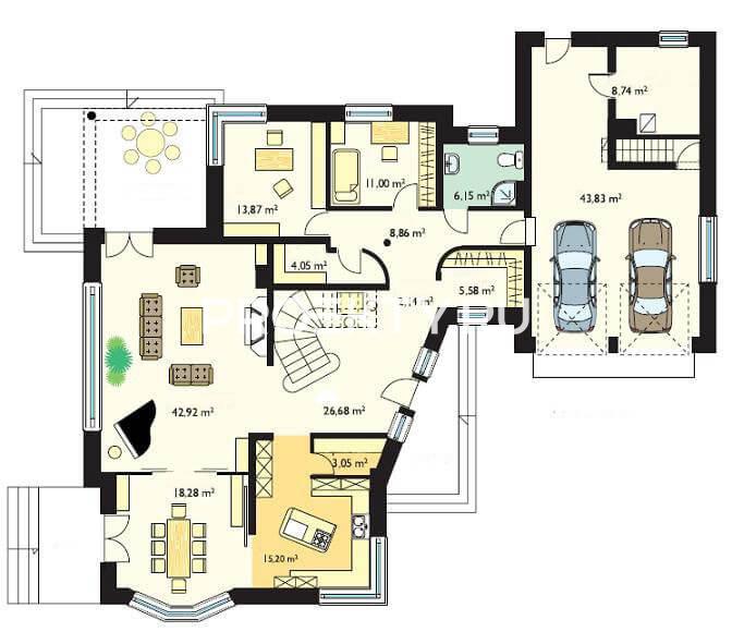 План проекта Резиденция