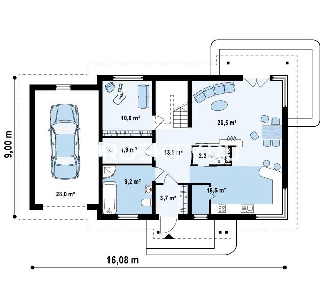 План проекта Z105