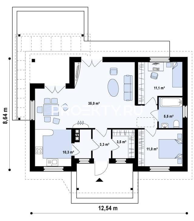 План проекта Z136