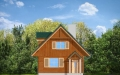 Фасад проекта Д03 деревянный (миниатюра)