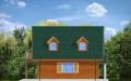 Фасад проекта Д03 деревянный - 3
