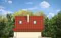Фасад проекта Д03 с гаражом - 4