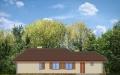 Фасад проекта Д05 с гаражом - 2