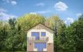 Фасад проекта Дом с Мансардой - 2