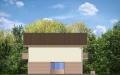Фасад проекта Дом с Мансардой - 3