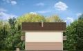 Фасад проекта Дом с Мансардой - 4