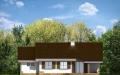 Фасад проекта Незабудка с гаражом - 2