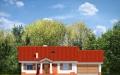 Фасад проекта Незабудка с гаражом-2 (миниатюра)