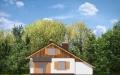 Фасад проекта Пчелка с гаражом - 2