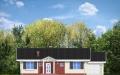Фасад проекта Солнечный с гаражом (миниатюра)
