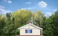 Фасад проекта Солнечный с гаражом - 3