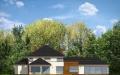 Фасад проекта Вилла с бассейном (миниатюра)