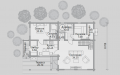 План проекта Баня БН 136 (миниатюра)
