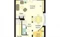 План проекта Дом с Мансардой (миниатюра)