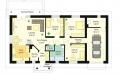 План проекта Солнечный с гаражом-2 (миниатюра)
