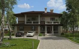 проект дома - 87-55