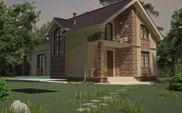 проект дома - 88-54