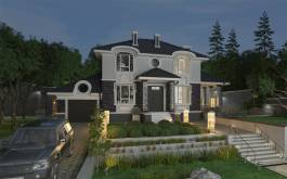 проект дома - 92-34