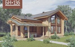 проект Баня БН 136
