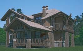 проект Лесной дом