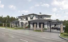 проект дома - Ривуар