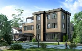 проект дома - Сезанн